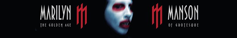 marilyn manson the golden age of the grotesque